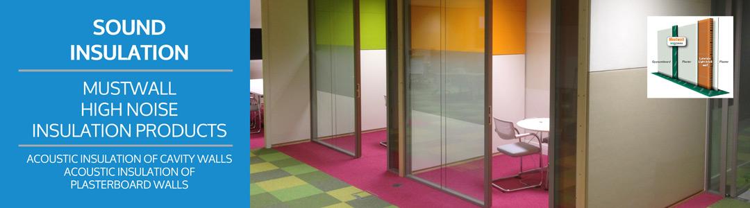 Sound Insulation Panels : Sound insulation acoustic panels ireland